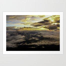 Mount Fuji Sunrise Art Print