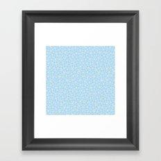 Forget Me Knot Sky Framed Art Print