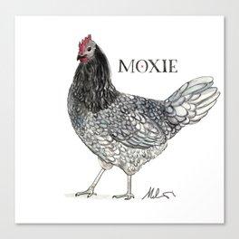 Moxie Canvas Print