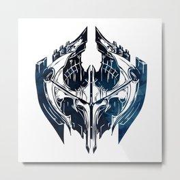NOXUS Crest - League of Legends Metal Print
