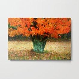 Van Gogh Autumn Metal Print