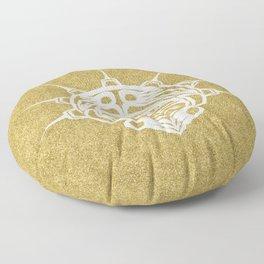 Spirit Frog Sand Floor Pillow