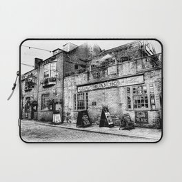 The Anchor Pub London Art Laptop Sleeve