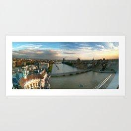 London by Eye Art Print