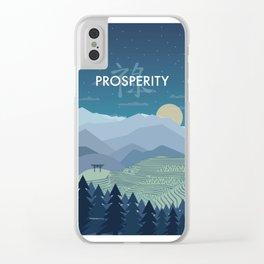 Prosperity Night Clear iPhone Case