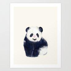 little panda bear Art Print