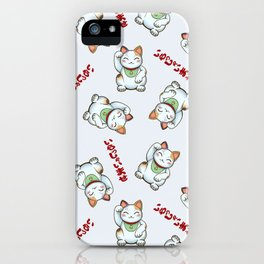 Maneki Neko Tenshu iPhone Case