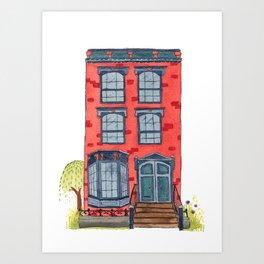 Brooklyn House 4 Art Print