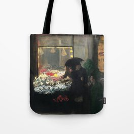 American Masterpiece 'Easter Eve' Washington Square, NY by John French Sloan Tote Bag