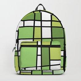 Modern Metrics Green Backpack