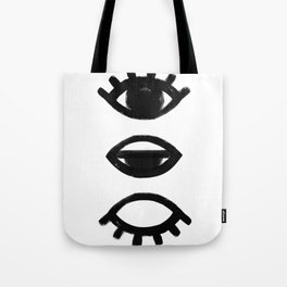 sleepy eye - all-seeing eye Tote Bag