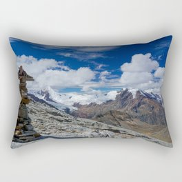 The Andes Rectangular Pillow