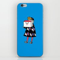 nike iPhone & iPod Skins featuring NIKE by Dain Suh