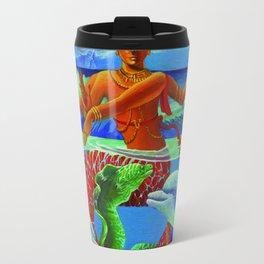 Tropical Nataraja Travel Mug