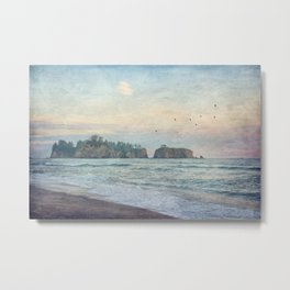 Sea Stacks  Metal Print