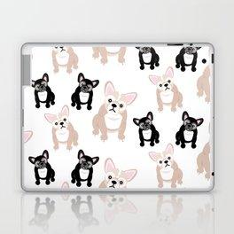 Cute French Bulldog Pattern Laptop & iPad Skin