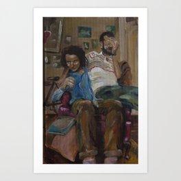 cardboard boys ii Art Print