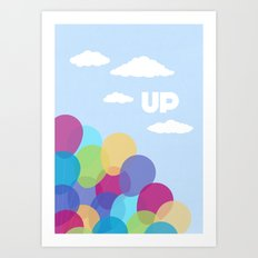 Pixar/Disney Up (Print 2) Art Print