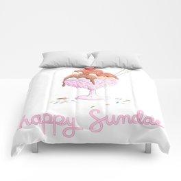 Happy Sundae Comforters