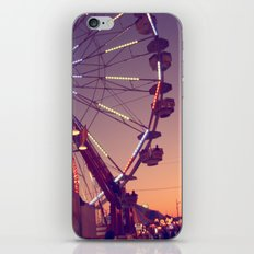 Midway Sunset iPhone & iPod Skin