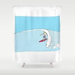 Tube Jive. Shower Curtain