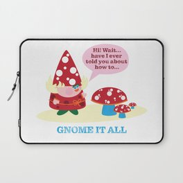 Greata The Gnome It All  Laptop Sleeve