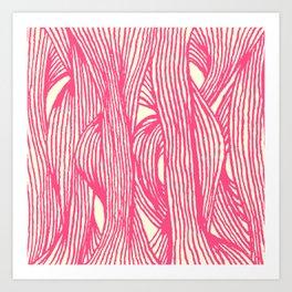 Inklines III Art Print