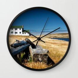Fiztroy Settlement Wall Clock