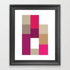 High End Color Framed Art Print