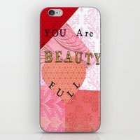 valentines iPhone & iPod Skins featuring Valentines by Patty Haberman