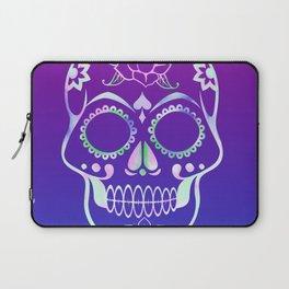 Love Skull (violette gradient) Laptop Sleeve
