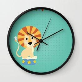 Circus Lion  Wall Clock