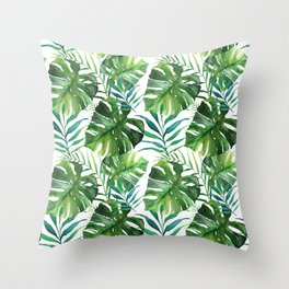 Jungle Feaver Throw Pillow