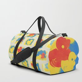 Rubber Duck Monoprint Duffle Bag