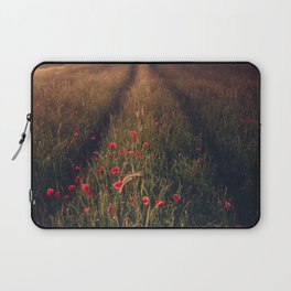 Poppies leading the way Laptop Sleeve