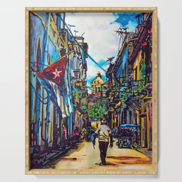 Havana, CUBA No.2 | 2015 Serving Tray