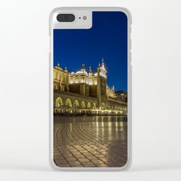 Cloth hall. Clear iPhone Case