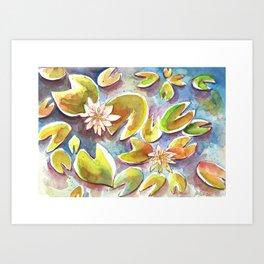 Waterlily I Art Print