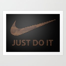 Just type it Art Print