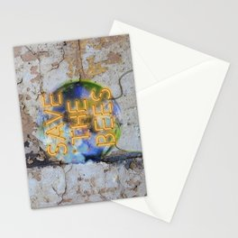 Save the Bees - Neon Stationery Cards