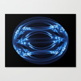 Magnetic Egg Canvas Print