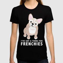 French Bulldog Puppies Pink T-shirt