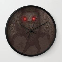Mothman Wall Clock
