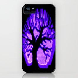 Happy HaLLoWeen. Brain Tree : Purple iPhone Case