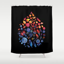 Colorful 2 Shower Curtain