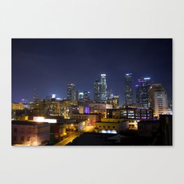 Photography in Downtown. Canvas Print