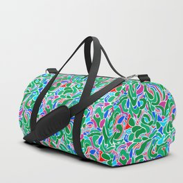 Abstract marble 8 Duffle Bag