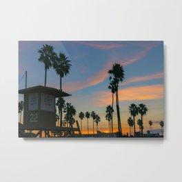 Tower 22 Sunrise Metal Print