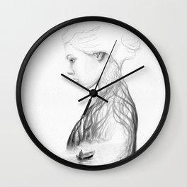 Onward and Inward Wall Clock