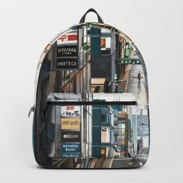 A View of Ginza, Tokyo Backpack